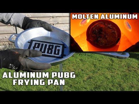 親手融造 PUBG的平底鍋 敲頭跟敲西瓜一樣