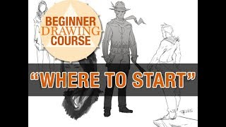Beginner Drawing Course Week 00 - Where to Start