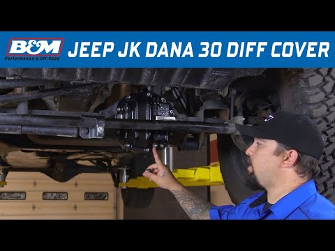 Install: B&M Hi-Tek Nodular Iron Differential Cover 12310 - Dana 30