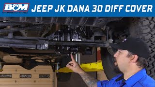 B&M (12310): Hi-Tek Nodular Iron Dana 30 Differential Cover