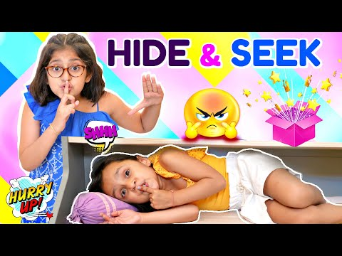 HIDE & SEEK Game CHALLENGE | ToyStars