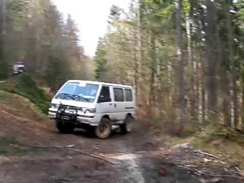 Mitsubishi L300 4x4 - Tisovec 2009