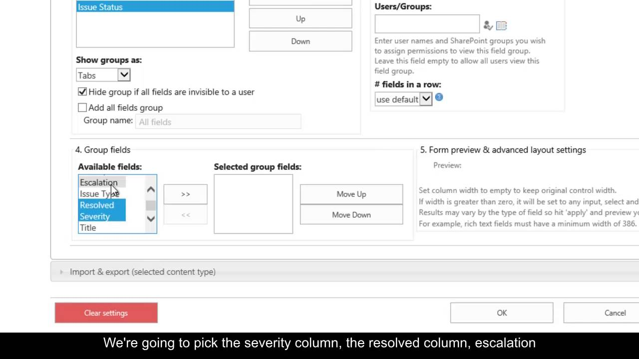 Quickly create multi-tab forms