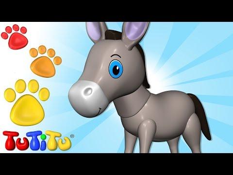 TuTiTu Animals   Animal Toys for Children   Donkey and Friends