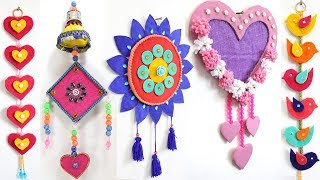 Wall Hanging Ideas With Waste Material म फ त ऑनल इन