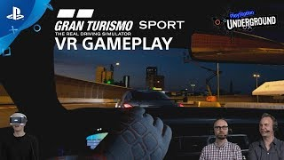 GT Sport PS VR Gameplay | PS Underground