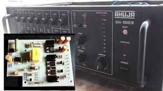 ahuja amplifier 500 watt circuit diagram - Thủ thuật máy