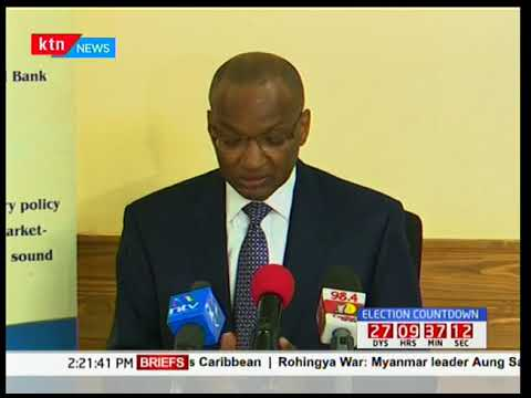 CBK governor Patrick Njoroge says a new generation currencies will be rolled out soon