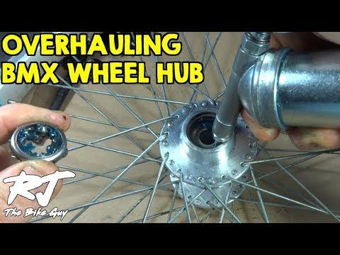 Overhaul Rear Wheel Hub Of BMX Bike