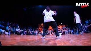ICEE vs WAYDI - Battle BAD 2014 - HIP-HOP 1/2 Final