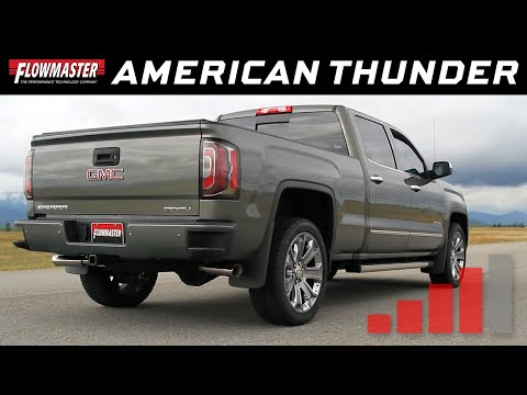 2011-18 GM Silverado/Sierra 1500 6.2L - American Thunder Cat-back Exhaust System 817602
