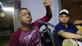 Carlinhos Machado no Programa Papo de Barbearia do Jornal Folha do Povo em Sapucaia do Sul
