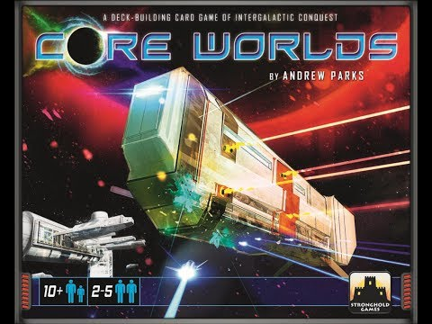 Off The Shelf Board Game Reviews Presents - Core Worlds With Galactic Orders Expansion