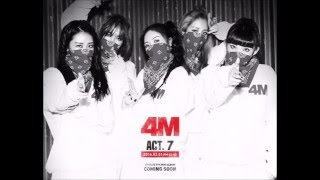 4MINUTE- Hate [Audio]