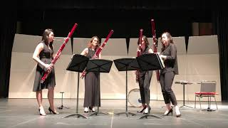 What About Us by P!nk - The Breaking Winds Bassoon Quartet