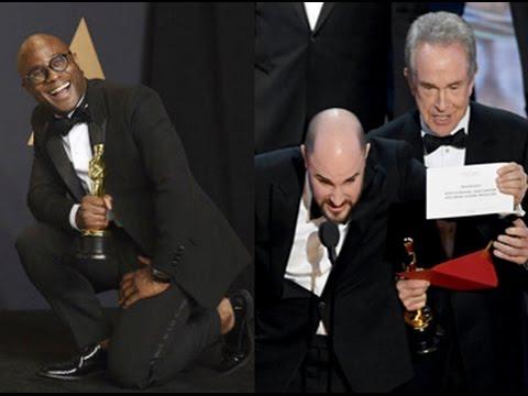 Moonlight wins best film Oscar after major onstage gaffe