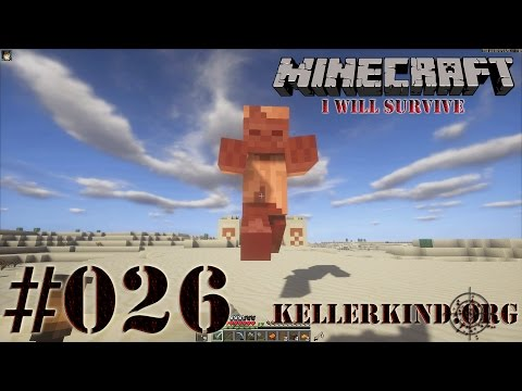 Minecraft: I will survive #026 - Ein Wüstentempel ★ Let's Play Minecraft [HD|60FPS]