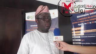 Déclaration de M. Wallou Laye LIBANIO – BENIN  pour MarocNews à l'occasion du séminaire d'Agadir sur l'application des normes comptables