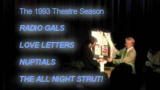 Blowing Rock NC Theater Thanking Jerry Burns Mark Wilson 1993 - A Curtain Speech Cautionary (S8P4)