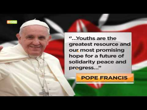Pope Francis sends greetings to Kenyans