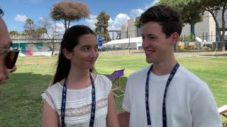 Zala Kralj & Gašper Šanti - Sebi (Slovenia 2019) - Interview At Eurovision 2019
