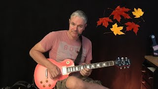 Autumn Leaves - Smooth Jazz Guitar Complete Lesson