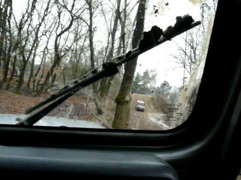 ANVT driving with wrangler