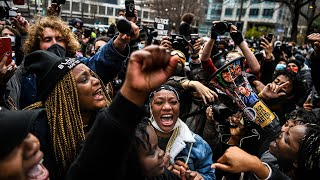 video: Watch: 'George Floyd got his justice'- Minneapolis celebrates as Derek Chauvin found guilty of murder