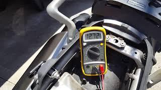 Triumph tiger 800 starting problem when hot part 2