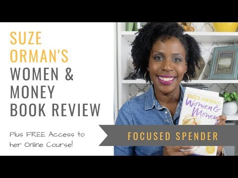 Suze Orman's Women & Money Book Review + Free Access to Her Course!