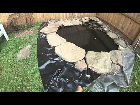Making A Cheap Pond In Your Yard DIY