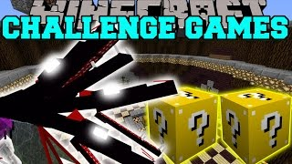 Minecraft: THE QUEEN CHALLENGE GAMES - Lucky Block Mod - Modded Mini-Game