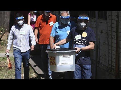 Β. Μακεδονία: Άνοιξαν οι κάλπες για τις βουλευτικές εκλογές παρά την έξαρση του κορονοϊού…