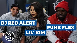 Kool Dj Red Alert, Queen Bee Lil Kim, &  Funk Flex Reminisce BIG & Junior Mafia  on March 9