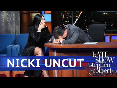 UNCUT: The Nicki Minaj Interview With Stephen Colbert