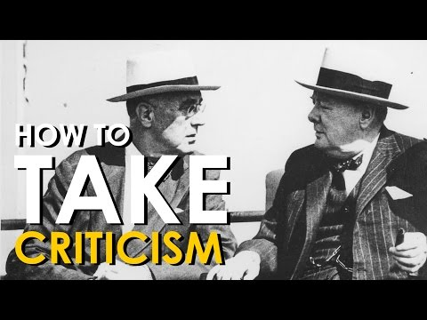 This Video Gives You A Primer On How To Take Criticism