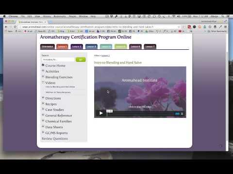 Online Aromatherapy Certification Program - YouTube