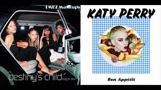 Bon Appetit, Bug A Boo - Destiny's Child Ft. Wyclef Jean X Katy Perry Ft. Migos (Mashup)