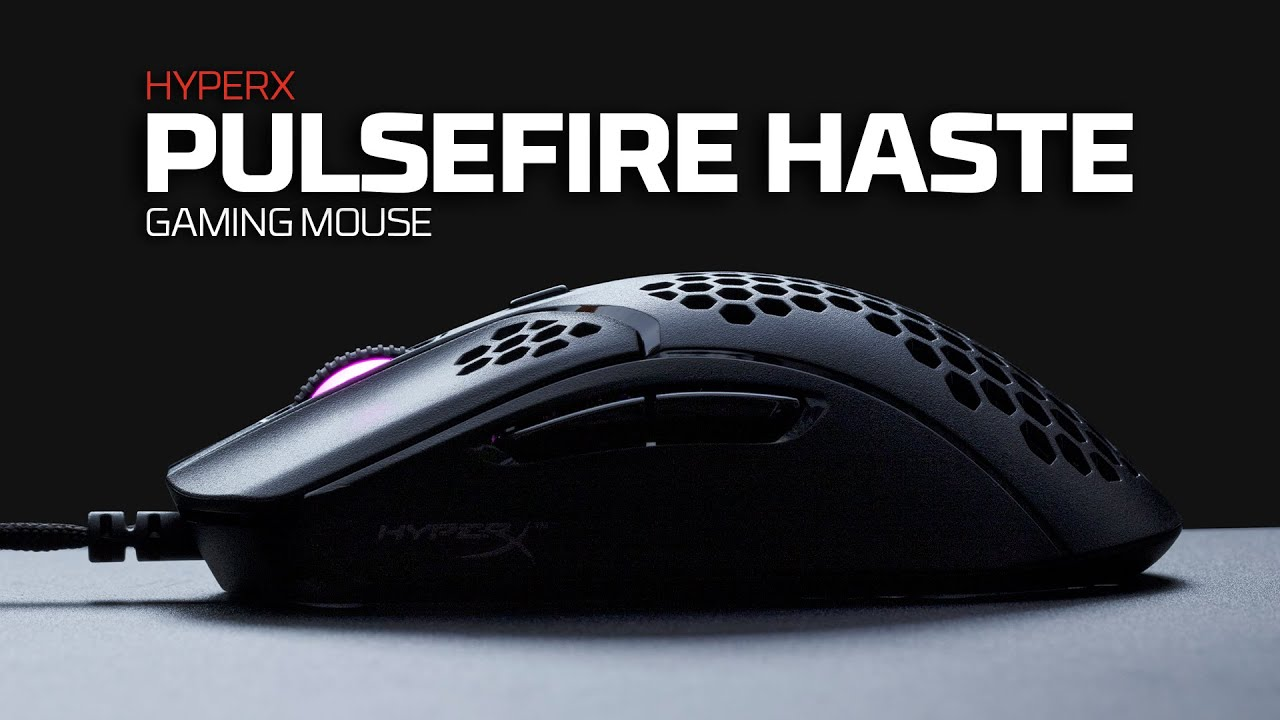 HyperX lanza su nuevo mouse ultra-liviano 'Pulsefire Haste' [VIDEO] | Videojuegos | Pulsefire Haste | Teletrabajo | Videojuegos | VIDEOJUEGOS | PERU21