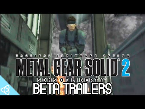 Metal Gear Solid 2: Sons of Liberty - Beta Trailers