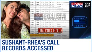 Sushant Singh Rajput CALL RECORDS accessed; 19 calls between Sushant-Rhea in January - Download this Video in MP3, M4A, WEBM, MP4, 3GP