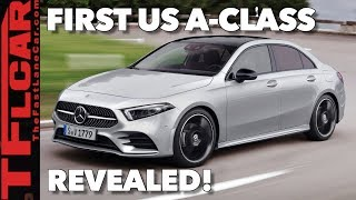 Here's Everything You Need to Know About the 2019 Mercedes-Benz A-Class Sedan
