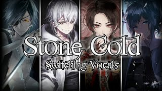 ❉Nightcore → Stone Cold ♫Switching Vocals♪