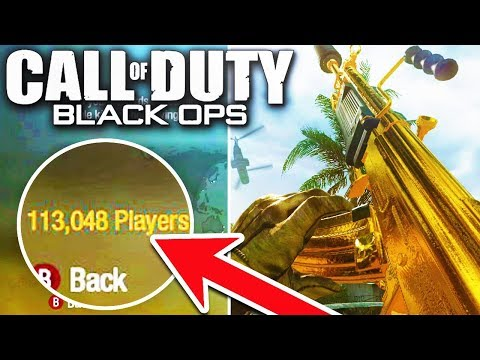 Call Of Duty Black Ops 1 in 2018..! 😍 (100,000+ Players Online!)