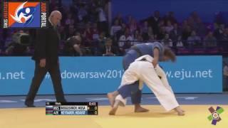 European Judo Championships Warsaw 2017 Final -73kg MOGUSHKOV (RUS) vs. HEYDAROV Hidayat (AZE)