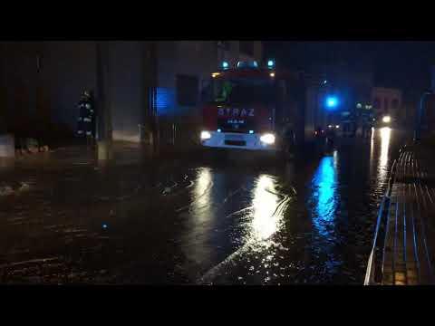 Wideo1: Po ulewie w Krobi