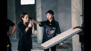Diệu Nhi - Thu Trang Tập Võ Trong Phim Thập Tam Muội