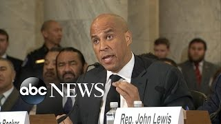 Cory Booker Testimony In Opposition of Sessions