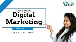 Online Digital Marketing Course Training - Digital Nest