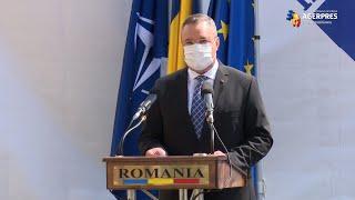 """Ciucă: Fondurile pentru relansarea Institutului """"Cantacuzino"""" - din cele 2 procente din PIB alocate Apărării"""